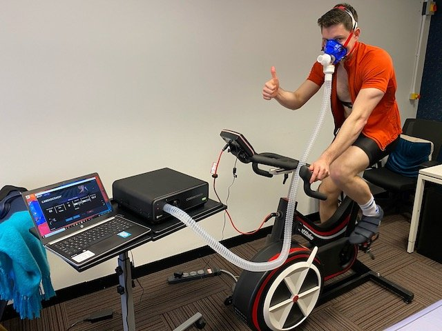 MVM Client doing VO2Max